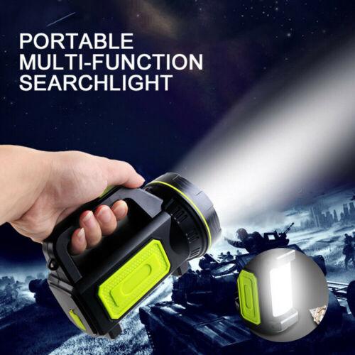 135000LM Lumens LED Ultra Bright Searchlight Spotlight USB Flashlight Work Light