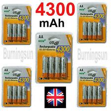 4 x AA MINION NI-MH BATTERY 1,2V 4300 mAh RECHARGEABLE BLISTER / 3800mAh