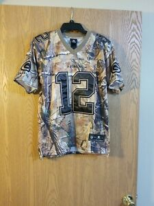 Details about Aaron Rodgers #12 Green Bay Packers Sewn Reebok Camouflage Jersey Youth L EUC