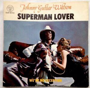 JOHNNY-GUITAR-Watson-7-034-1976-Superman-Lover-We-039-re-No-Exception-DJS-10722-UK