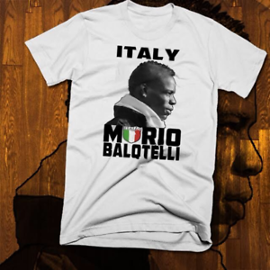 football World Cup Soccer t-shirt Mario Balotelli African Italian football Star