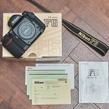Nikon F6 35mm SLR Film Camera - MINT