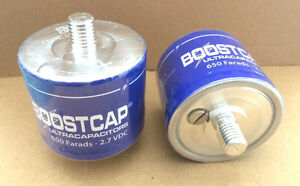 1 Stück Maxwell Boostcap SCREW Ultracapacitor<wbr/>s 650 Farads 2.7 VDC 39,00 Euro