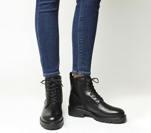 Boots Vagabond Kenova Leather Lace Black Womens CdnqtwZxdH