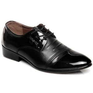 Men-039-s-Lace-Up-Casual-Low-Top-Oxfords-Chic-Dress-Fashion-Wedding-Formal-Shoes-New