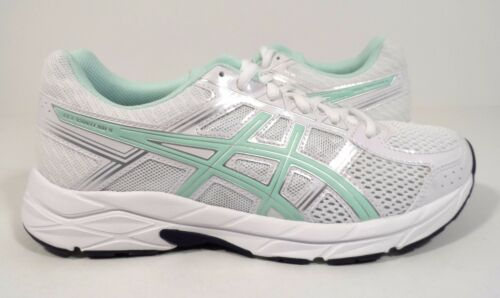 M Asics Blanc 5 Course 4 Femmes Argent contend Chaussures Us Baie 8 Gel xwOUP6gx