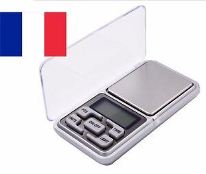 Balance de précision électronique Mini Pèse de Poche Scale Bijoux herbe 500g