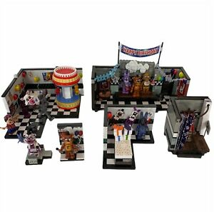 Five Nights At Freddy's McFarlane Construction Lot Show Stage Party Wall