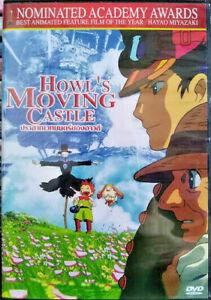 Howl S Moving Castle 2004 Dvd R0 Pal Hayao Miyazaki Multi Lingual Subs 8857122921414 Ebay