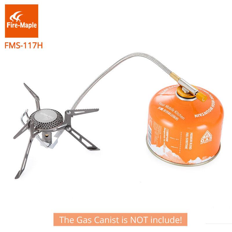 Fire Maple Titanio quemadores de gas cocina de estufas de gas con tubo de calor previa para al aire libre