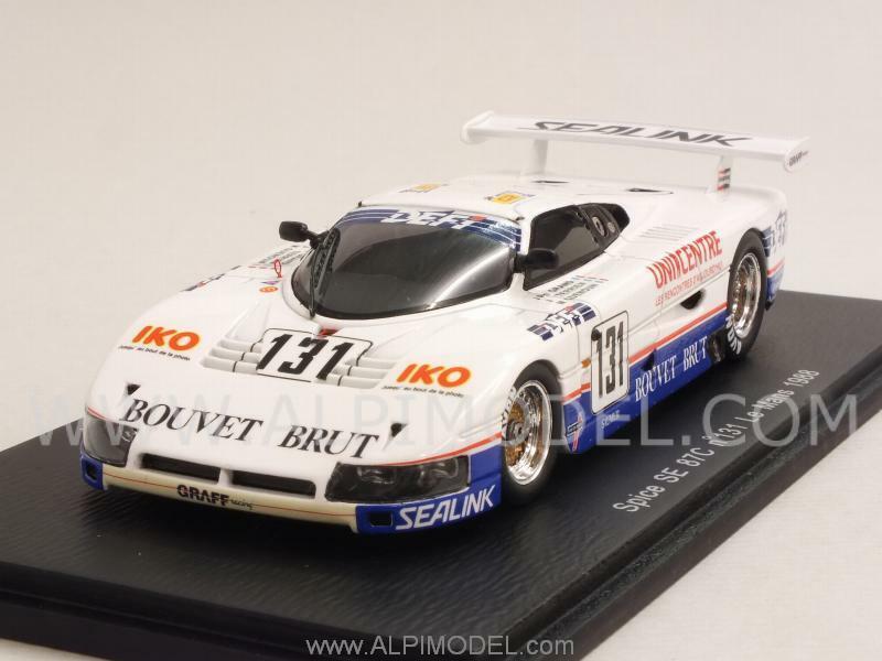 Spice SE87C Le Mans 1988 Grand - Terrien - Guenoun 1 43 SPARK S3587