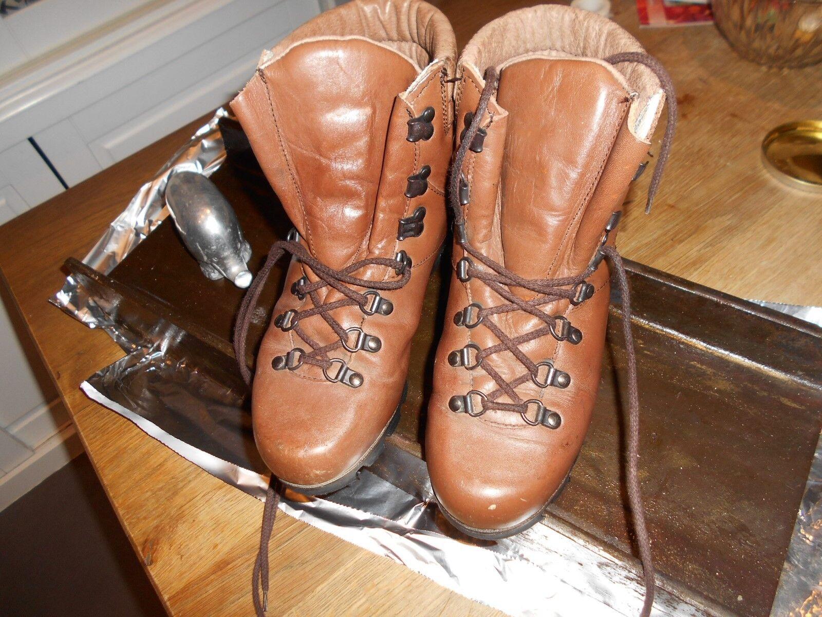 Rare en marchant chaussures varappe ISBA marron t 38 tbe has  ach imm fp rouge mond