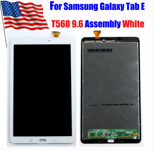 For Samsung Galaxy Tab E T560 9.6 LCD Touch Screen Digitizer Assembly White USTW