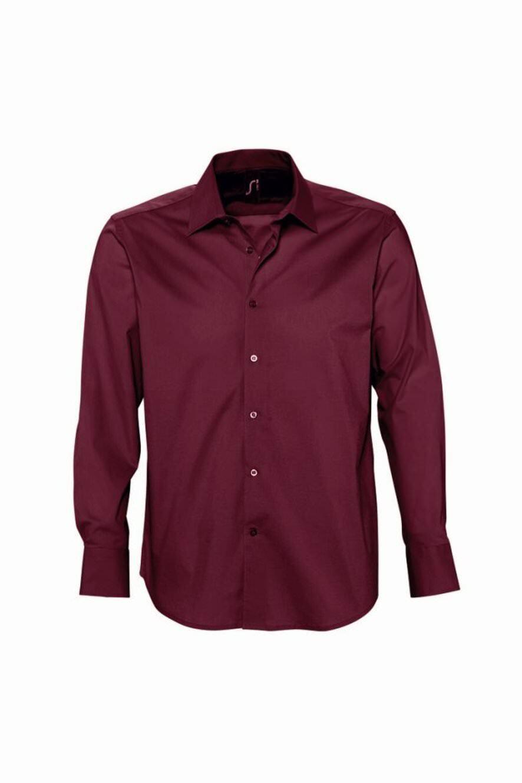 SOL'S - Brighton Long Sleeve Fitted Shirt Shirt Shirt - 17000 - Various Colours - Stretch | Charmantes Design  | Niedriger Preis und gute Qualität  e3f465