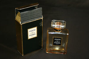 Flacon De Parfum Ancien Vide Coco Chanel Dans Sa Boîte Dorigine Ebay