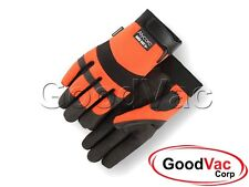 Work Gloves Boss Manufacturing 8444s 656729 Guardian Angel Dotted Nitrile Palm Knit Wrist As Gardening Supplies