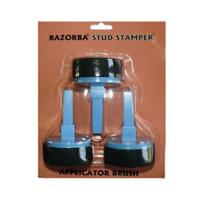 RAZORBA STUD STAMPER SHAVING CREAM APPLICATOR UNWANTED BACK HAIR REMOVAL REMOVER