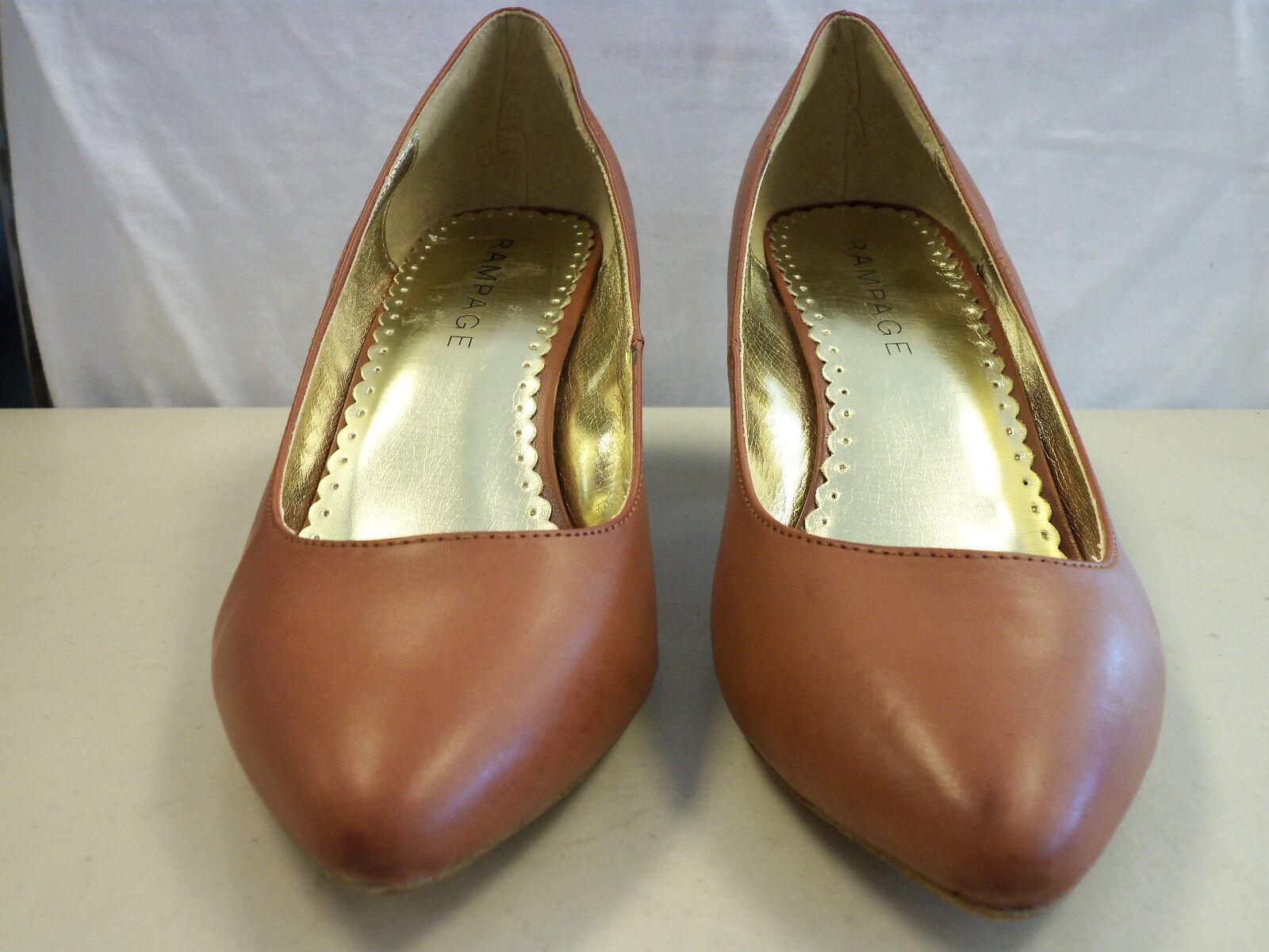 Rampage NEU Damenschuhe Hallee Braun Heels 9 M Schuhes