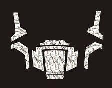 Polaris RZR RANGER 570 800 900 xp DECALS WRAP DOORS UTV camo camouflage snow 1