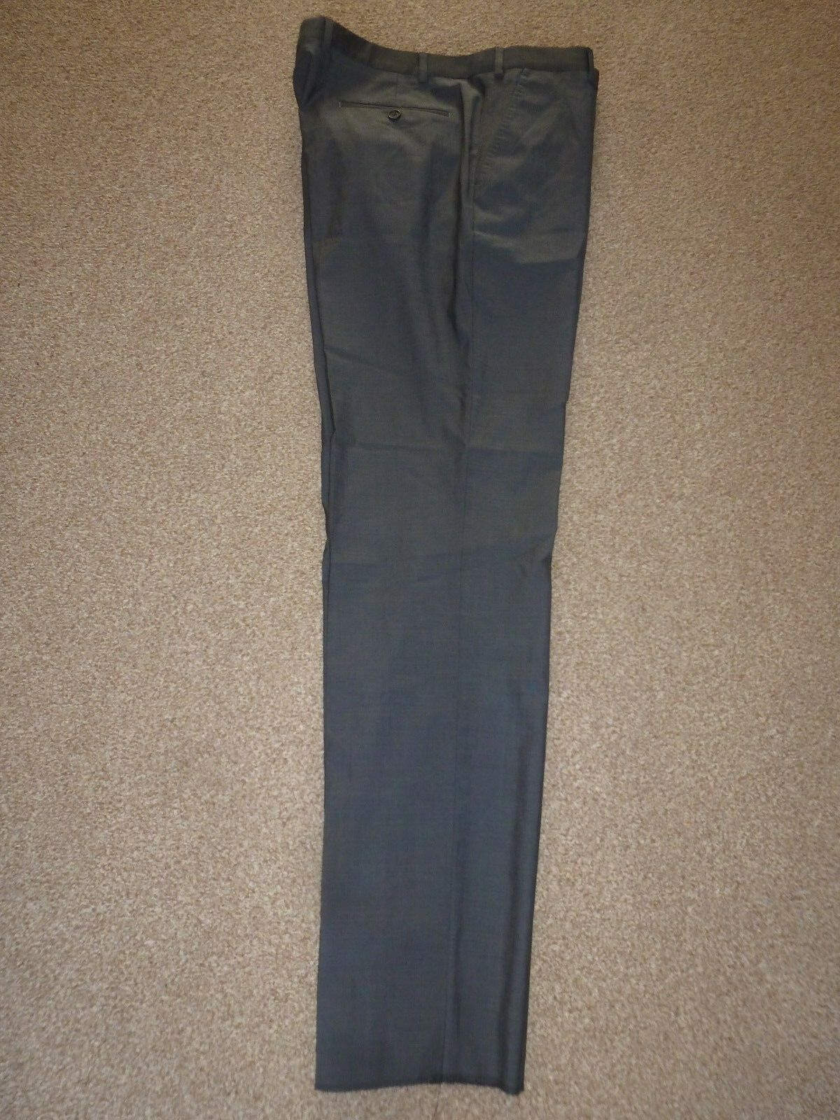 BNWT Homme Neuf Ted Baker Endurance Endurance Baker en laine gris veste de tailleur 36 R Taille 36 Jambe 33.5 50d0d3