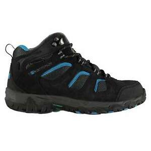 Kids Karrimor Mount Mid Top Childs Walking Boots Lace Up Waterproof New