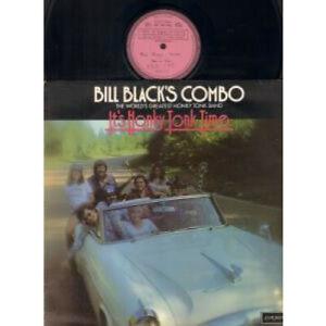BILL-BLACK-039-S-COMBO-It-039-s-Honky-Tonk-Time-LP-VINYL-UK-London-10-Track-Factory