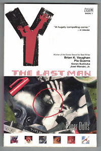 Y-The-Last-Man-Vol-7-Paper-Dolls-Trade-TPB-TP-3rd-Print-Vertigo-2003