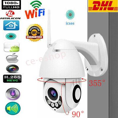 1080p funk wlan ip kamera berwachungskamera outdoor webcam au en camera cctv de ebay. Black Bedroom Furniture Sets. Home Design Ideas