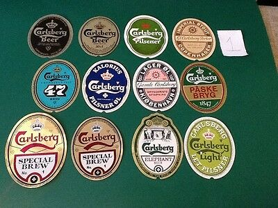 gamle øl etiketter