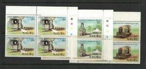 1980-Nauru-Phosphate-SG-224-6-Set-3-in-block-4-MUH-wholesale