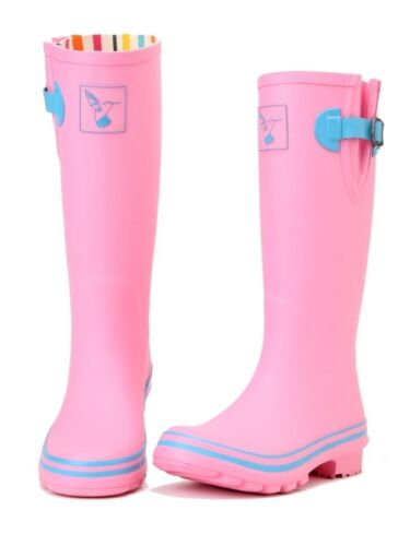 Box Pink Evercreatures Wellington Pasture Wellies New taglia Stivali 8 in T4ZCqwznx4