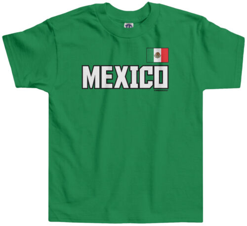 Threadrock Kids Mexico National Team Toddler T-shirt Mexican Pride Olympics