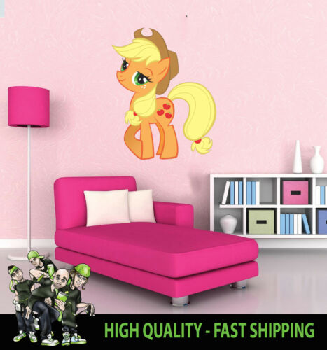 PRINTED WALL ART WALL MY LITTLE PONY APPLEJACK GRAPHIC STICKER DECAL
