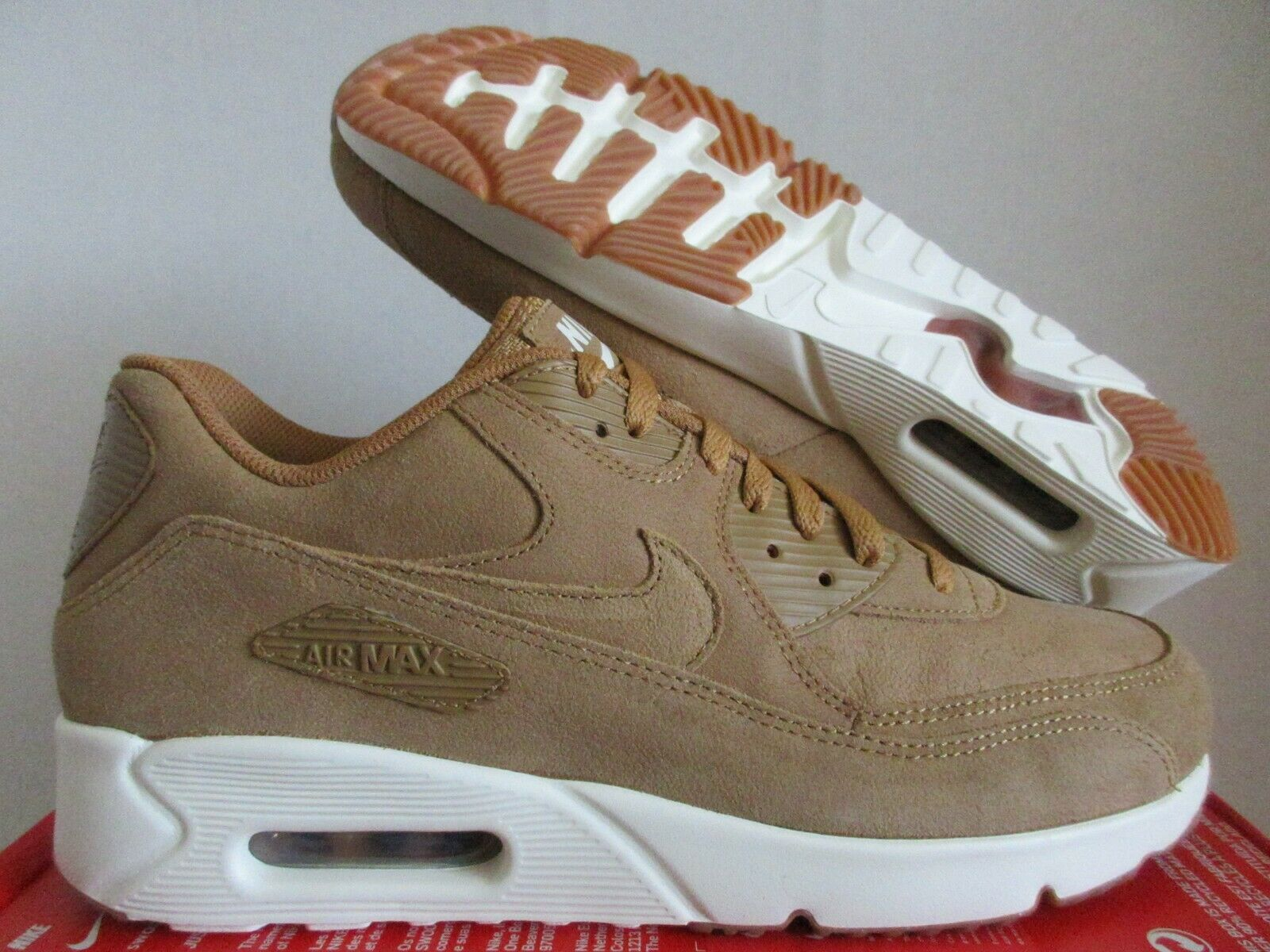 Size 8 - Nike Air Max 90 Ultra 2.0 Wheat 2017 for sale online | eBay