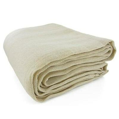 LARGE HEAVY DUTY COTTON TWILL DURABLE DUST SHEET SHEETS PROFESSIONAL - 4 SIZES
