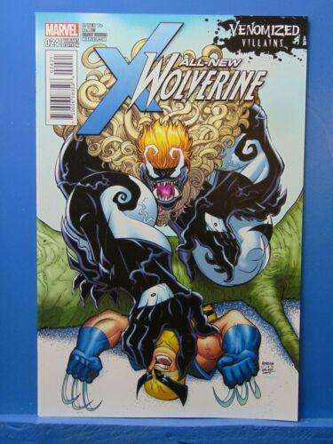 All New Wolverine #24 Variant Edition Venomized Villians Marvel Comics CB9775