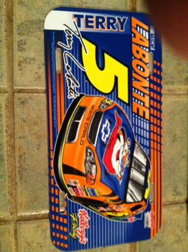 Terry Labonte #5 Plastic License Plate