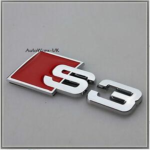 Par Nuevo Original Alfa Romeo Mito cloverleaf ala Insignias 50518846 50518847