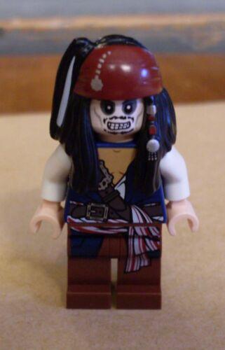 LEGO pirates des Caraïbes-Capitaine Jack sparrow skeleton personnage squelette ESPRIT NEUF