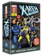 X-Men Complete Season Art Card Box Set (DVD, 2011, 12-Disc Set)