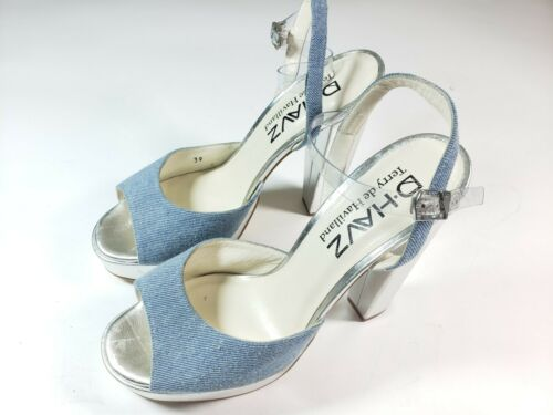 D.Havz Terry De Haviland Women's Block Heels Plat… - image 1