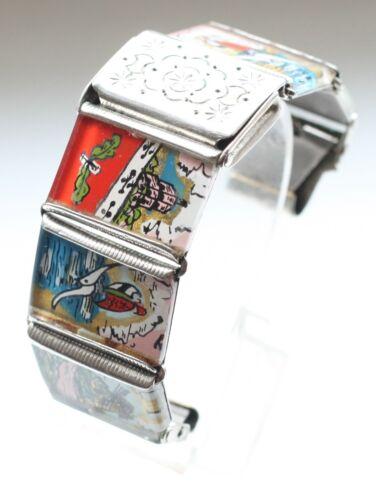 Original Handmade Vintage Bracelet For Watches. Pr