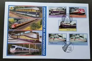 [SJ] Germany Train 2006 Locomotive Railway Transport Vehicle (FDC) *diff PMK