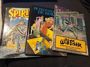 3 Hardcover strips van De Spirit - Will Eisner