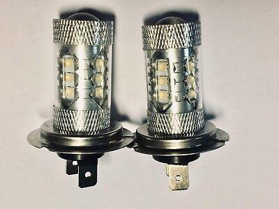 FITS SEAT IBIZA 2002-ON  SET H7 HALOGEN XENON LIGHT BULBS