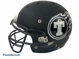 Riddell-Youth-Football-Helmet-Size-Medium-Matte-Black