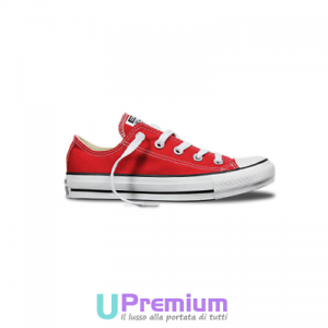 all star converse mujer rojas