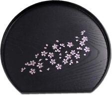 Petit plateau japonais rond Sakura - Made in Japan - Import direct