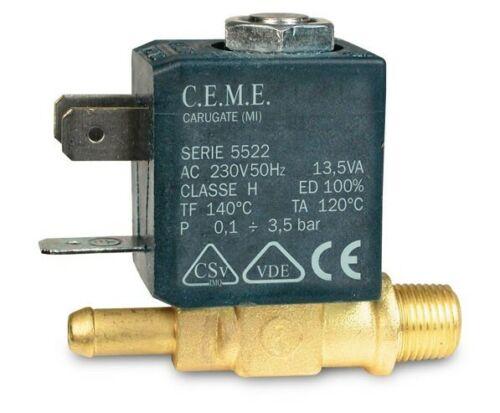 Ceme Magnetventil 230V für Laurastar Magic IS6 Dampfbügelstation
