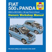 Fiat 500 Panda 1.1 1.2 Petrol 1.3 Diesel 2004-12 (53 to 61 Reg) Haynes Manual